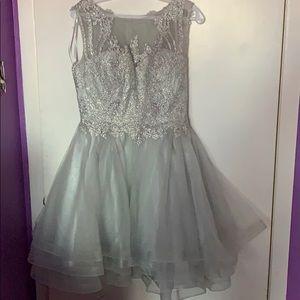 Dresses & Skirts - Silver dress
